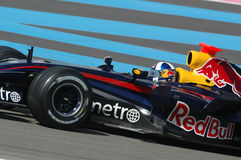 F1 2007 - David Coulthard Red Bull Photos libres de droits