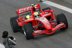 F1 2007 - Felipe Massa Ferrari Images libres de droits