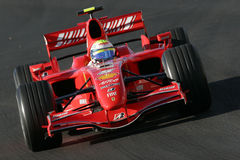 F1 2007 - Felipe Massa Ferrari Photo stock