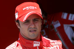 F1 2007 - Felipe Massa Ferrari Royalty Free Stock Photos