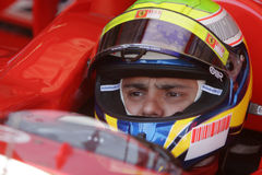 F1 2007 - Felipe Massa Ferrari Royalty Free Stock Images