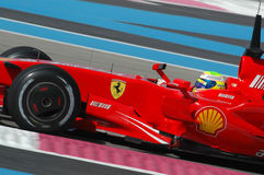 F1 2007 - Felipe Massa Ferrari Стоковая Фотография RF
