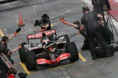 F1 2007 - Fernando Alonso McLaren Photos libres de droits