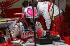 F1 2007 - Franck Montagny Toyota Photographie stock libre de droits