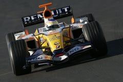 F1 2007 - Giancarlo Fisichella Renault Royalty-vrije Stock Foto's