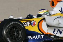 F1 2007 - Giancarlo Fisichella Renault Stock Image