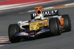 F1 2007 - Giancarlo Fisichella Renault stock photos