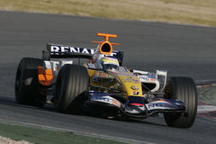 F1 2007 - Giancarlo Fisichella Renault Royalty Free Stock Image