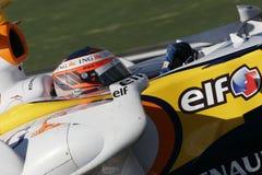F1 2007 - Heikki Kovalainen Renault Stock Images