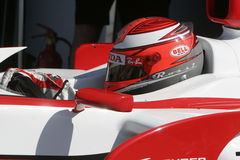 F1 2007 - James Rossiter Aguri superbe Photo stock