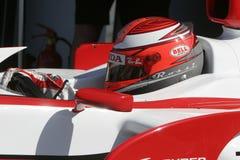 F1 2007 - James Rossiter Super Aguri Στοκ Εικόνες