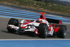 F1 2007 - James Rossiter Super Aguri Stock Photo