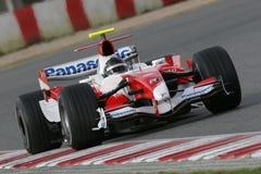 F1 2007 - Jarno Trulli Toyota Imagen de archivo