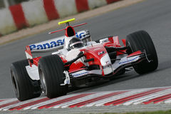 F1 2007 - Jarno Trulli Toyota Stock Image