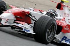 F1 2007 - Jarno Trulli Toyota Photos libres de droits