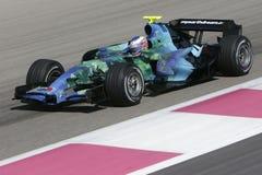 F1 2007 - Jenson Button Honda Fotografía de archivo