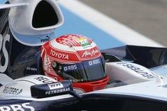 F1 2007 - Kazuki Nakajima Williams Royaltyfri Foto