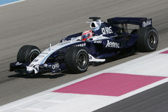 F1 2007 - Kazuki Nakajima Williams Royaltyfri Fotografi