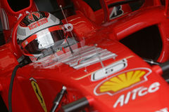 F1 2007 - Kimi Raikkonen Ferrari Stock Images