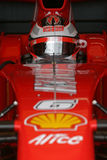 F1 2007 - Kimi Raikkonen Ferrari Royalty Free Stock Images