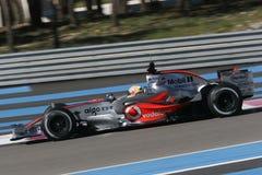 F1 2007 - Lewis Hamilton McLaren Royaltyfri Fotografi