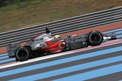 F1 2007 - Lewis Hamilton McLaren Royalty Free Stock Images