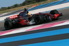 F1 2007 - Lewis Hamilton McLaren Royaltyfria Bilder