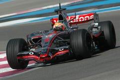 F1 2007 - Lewis Hamilton McLaren Stock Photos