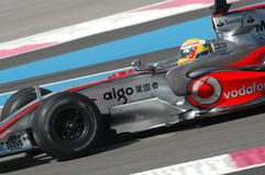 F1 2007 - Lewis Hamilton McLaren Royalty Free Stock Photography