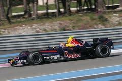 F1 2007 - Mark Webber Red Bull Royalty Free Stock Photo