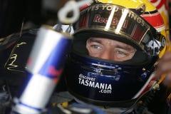 F1 2007 - Mark Webber Red Bull Στοκ Εικόνα