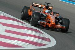 F1 2007 - Markus Winkelhock Spyker Stock Photo