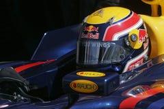 F1 2007 - Marque Webber Red Bull Foto de Stock