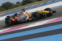 F1 2007 - Nelson Piquet Renault Foto de archivo