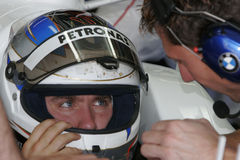 F1 2007 - Nick Heidfeld BMW Sauber Royalty Free Stock Image