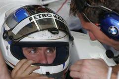 F1 2007 - Nick Heidfeld BMW Sauber Royaltyfri Bild