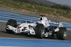 F1 2007 - Nick Heidfeld BMW Sauber Royaltyfri Foto