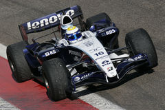 F1 2007 - Nico Rosberg Williams royalty free stock photo