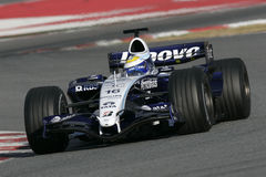 F1 2007 - Nico Rosberg Williams Royalty Free Stock Images