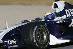 F1 2007 - Nico Rosberg Williams Stock Image