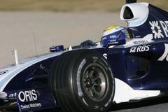 F1 2007 - Nico Rosberg Williams stock image