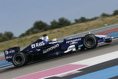 F1 2007 - Nico Rosberg Williams Royaltyfri Bild
