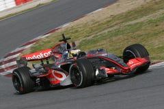 F1 2007 - Pedro de la Rosa McLaren Stock Image