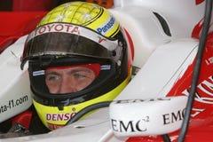 F1 2007 - Ralf Schumacher Toyota Royaltyfria Bilder