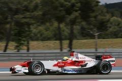 F1 2007 - Ralf Schumacher Toyota Royaltyfri Bild
