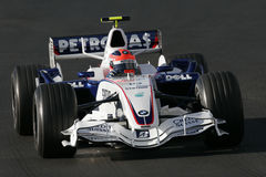 F1 2007 - Robert Kubica BMW Sauber Stock Photos