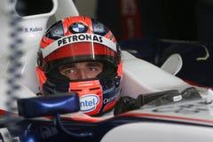 F1 2007 - Robert Kubica BMW Sauber Royalty-vrije Stock Foto's