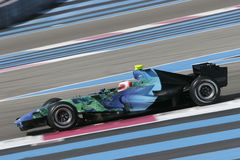 F1 2007 - Rubens Barrichello Honda Stock Photos