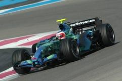 F1 2007 - Rubens Barrichello Honda Royalty Free Stock Photos