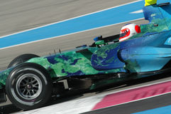 F1 2007 - Rubens Barrichello Honda Stock Photo